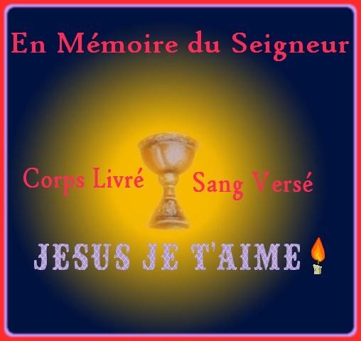 """Avec Jésus """" au reposoir"""""""